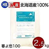 強力粉 春よ恋100 北海道産パン用小麦粉 2.5kg