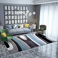 Carpet 北欧のミニマリストスタイルの幾何学的なカーペットのリビングルームソファーコーヒーテーブルパッドのベッドルームのベッドホーム長方形の滑り止めのカーペット A+ (色 : #2, サイズ さいず : 80x160cm(31x63inch))