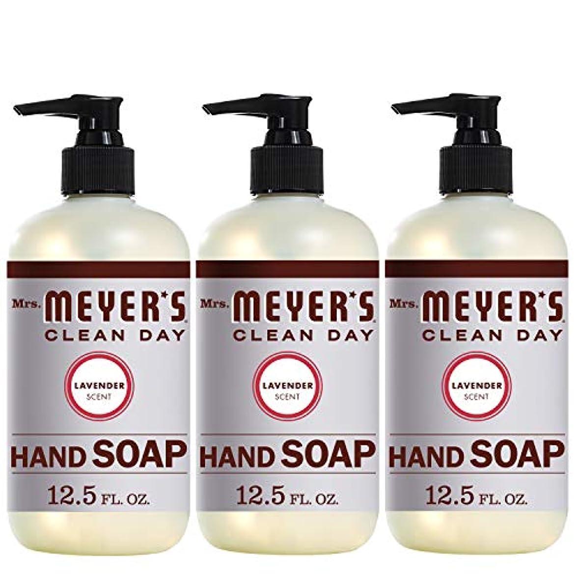 通知する鉱石出発Mrs。Meyer 's Clean Day Hand Soap、ラベンダー、12.5 FL OZ