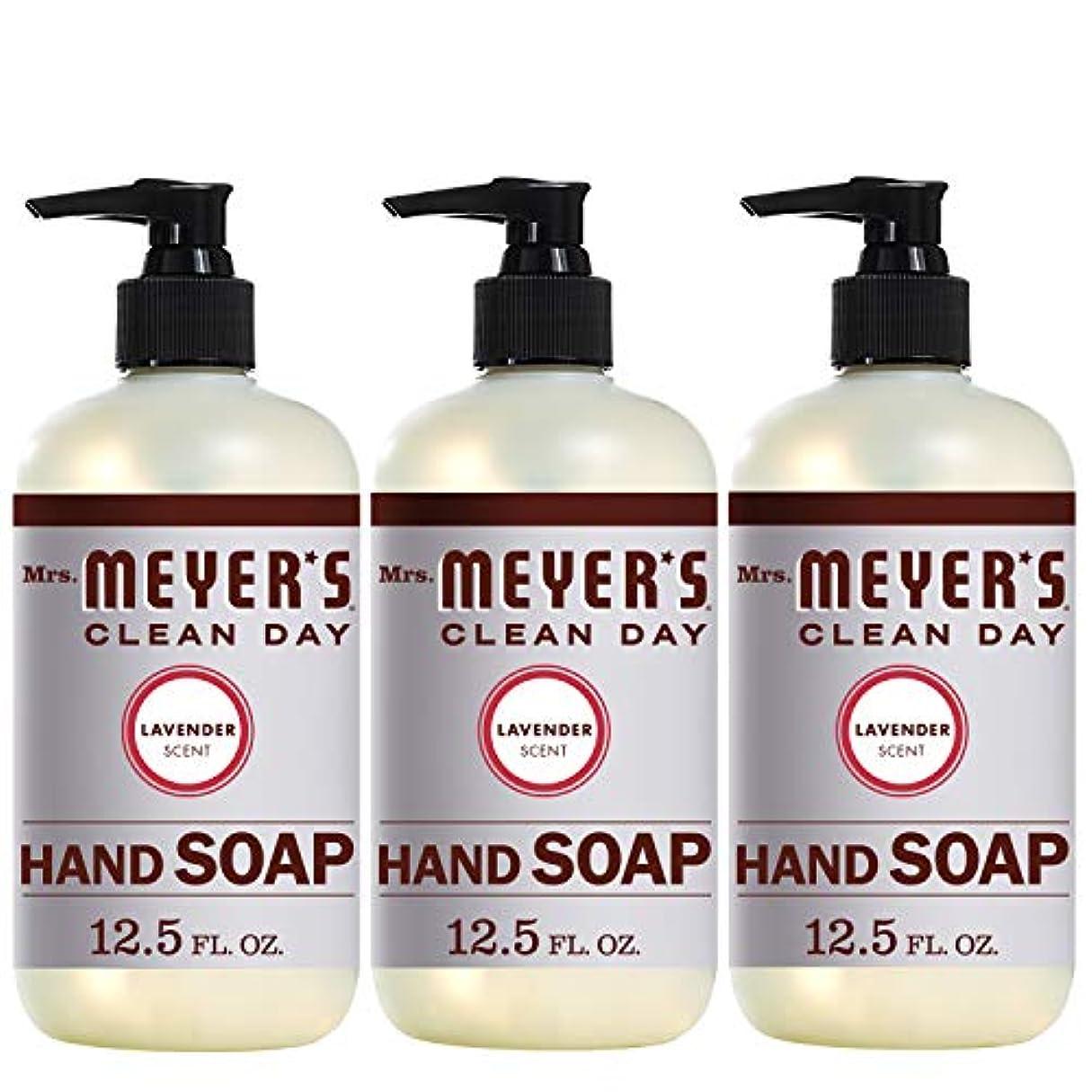 故国シングル再生的Mrs。Meyer 's Clean Day Hand Soap、ラベンダー、12.5 FL OZ
