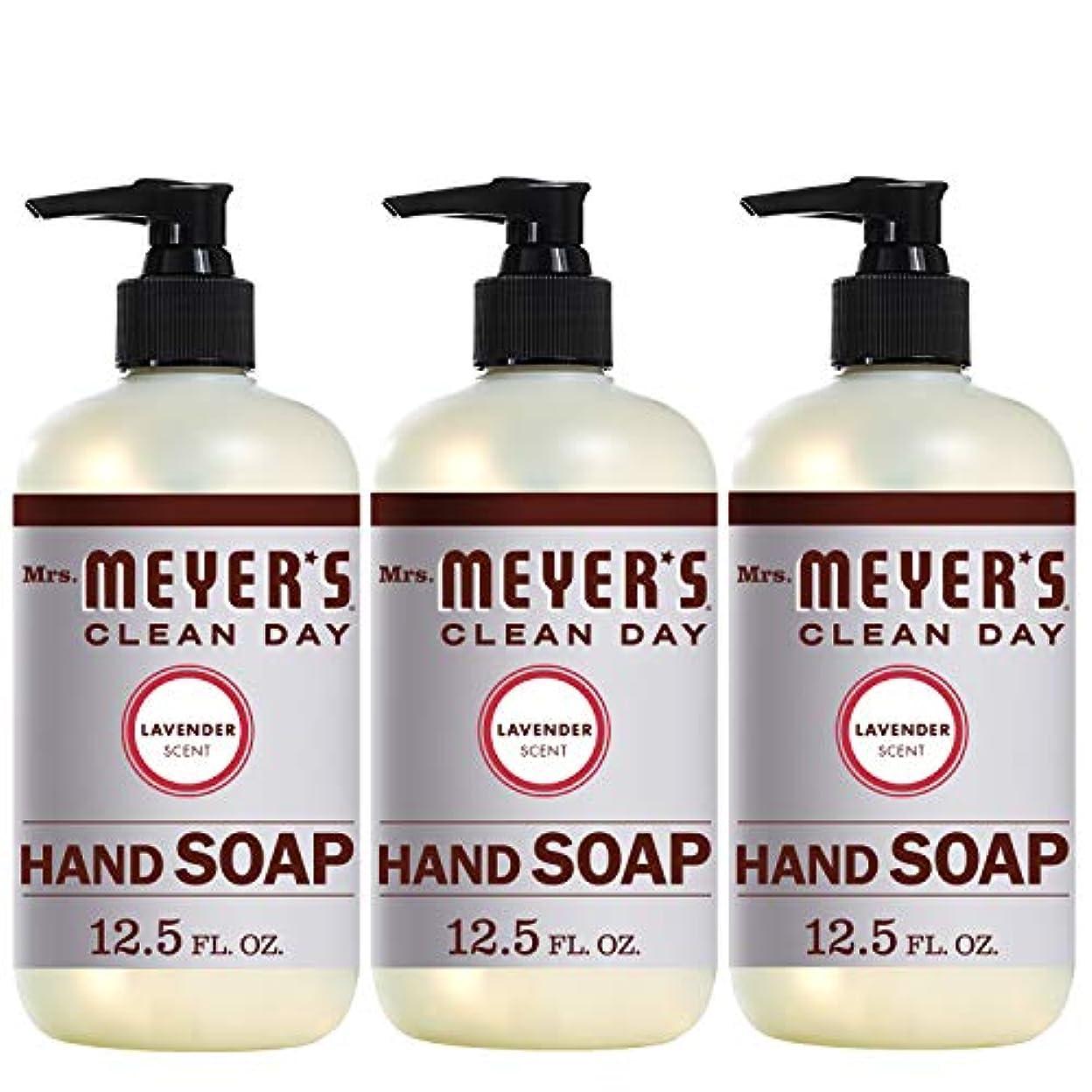 カスタムカウントアップ使役Mrs。Meyer 's Clean Day Hand Soap、ラベンダー、12.5 FL OZ