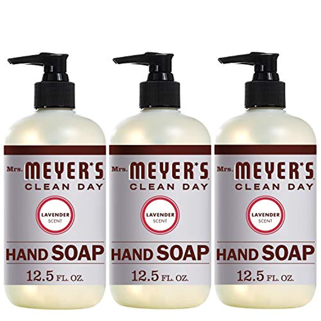 ページ無法者雪だるまMrs。Meyer 's Clean Day Hand Soap、ラベンダー、12.5 FL OZ