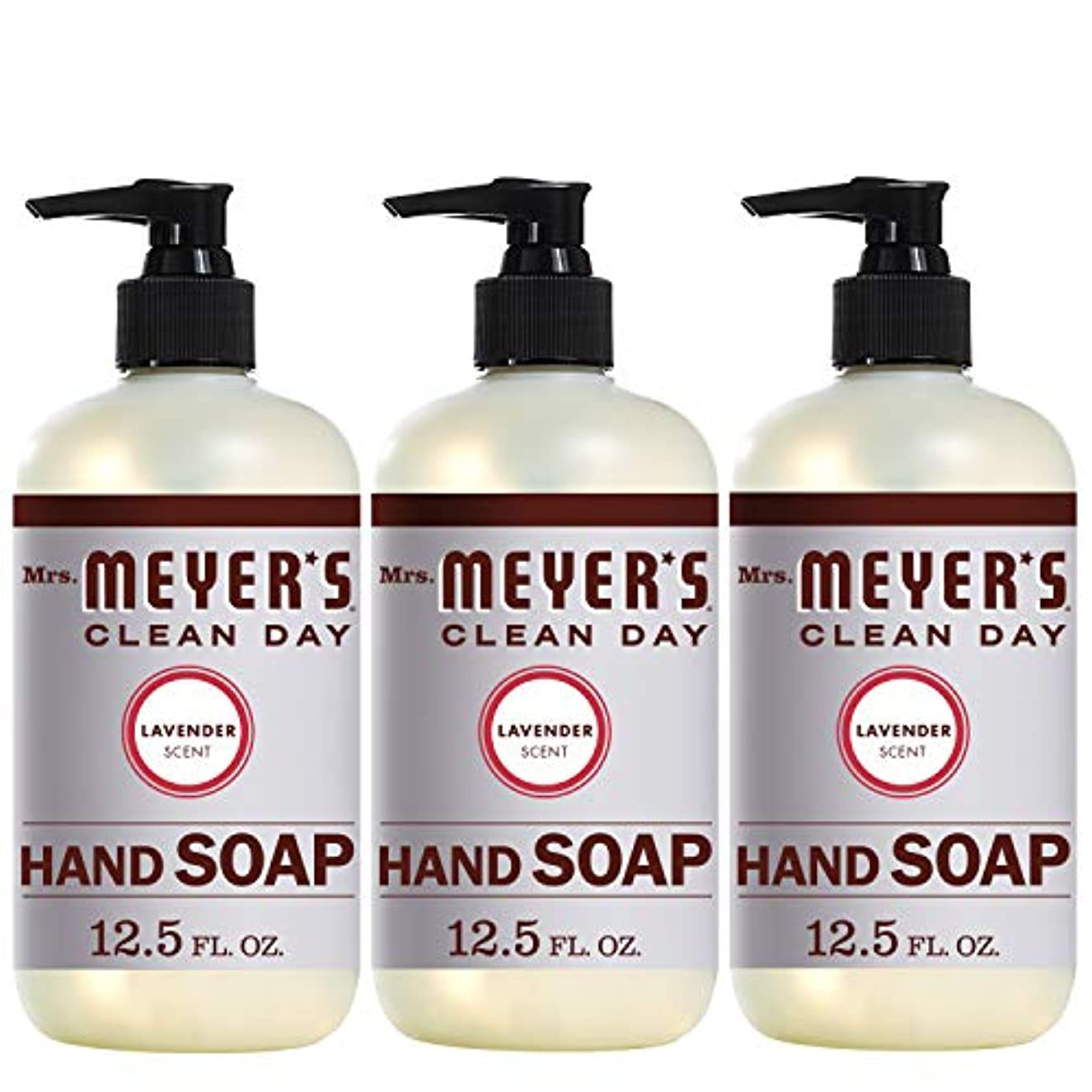 変換高潔な介入するMrs。Meyer 's Clean Day Hand Soap、ラベンダー、12.5 FL OZ