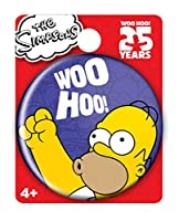 Simpsons The Homer Single Button Pin Action Figure [並行輸入品]