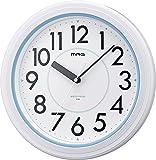 MAG(マグ) 壁掛け時計 アクアガード アナログ表示 IPX7防水仕様 ホワイト W-662WH-Z