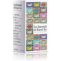 (KUSMI TEA) クスミティー エッセンシャル ティーバッグ (個別包装あり) 2.2g×24袋入り (12種類、各2袋入り) [正規輸入品]
