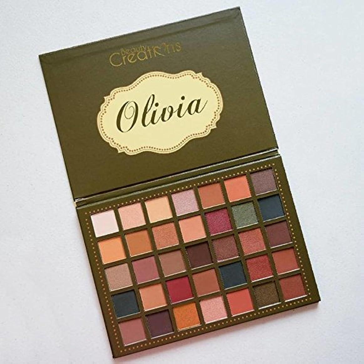 の慈悲でクリップ蝶病なBEAUTY CREATIONS 35 Color Palette - Olivia (並行輸入品)