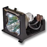 オリジナルバルブとジェネリックハウジング、Sanyo FortiXC10交換用610 308 1786, 6103081786, 610-308-1786, POA-LMP68プロジェクターランプ。