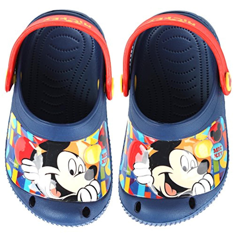 [ディズニー] DISNEY ミッキーマウス Mickey Mouse SD719 prism ボーイズ クロックススタイル ブルー サンダル [並行輸入品]