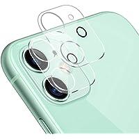 【2枚セット】iPhone 11 用 カメラフィルム 日本旭硝子製 アイフォン11 用 レンズフィルム 全面保護/硬度9…