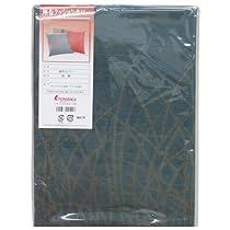(ロマンス小杉) 日本製 座布団カバー 八端判 ブルー 1-2900-2229-2700