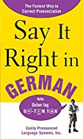 Say It Right In German (Say It Right!)