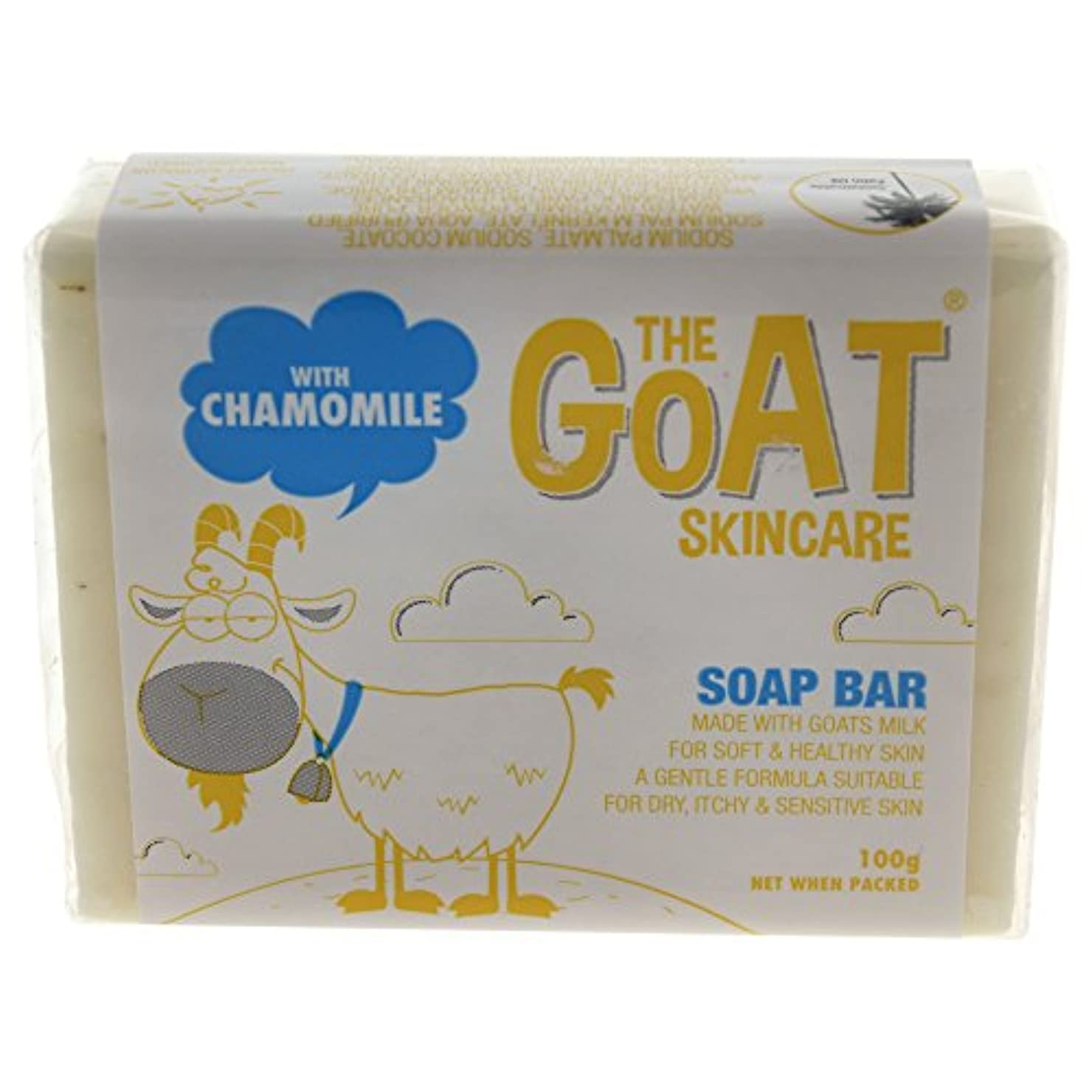 きつく試してみるアンデス山脈Soap Bar with Chamomile