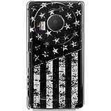 CaseMarket 【ポリカ型】 docomo LUMIX Phone P-02D ポリカーボネート素材 ハードケース [ ブラック アメリカン フラッグ - クールブラック ]