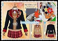 ◆ラブライブ!サンシャイン 紅葉狩り編 国木田花丸 覚醒前 コスプレ衣装