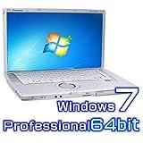 中古ノートパソコン Panasonic レッツノート B10 CF-B10EWCYS【Windows7 Pro 64bit・Core i5・8GB・新品SSD】