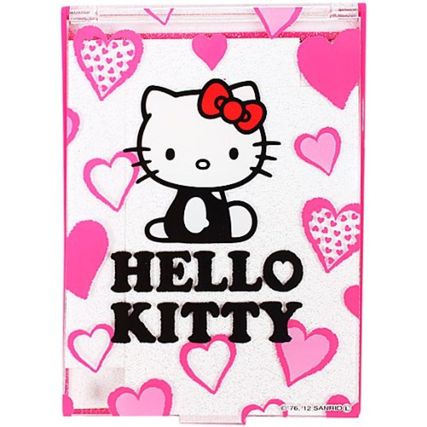 病気で接続詞キティ コンパクトミラー Lサイズ ピンク