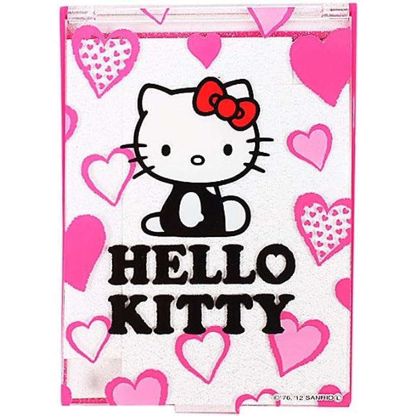 親指事業解読するキティ コンパクトミラー Lサイズ ピンク