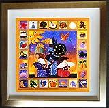 小澤摩純作、ジクレーに手彩色入り「ワンダープレゼント」