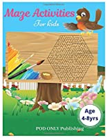 Maze Activities For Kids: Vol. 1 Beautiful Funny Maze Book Is A Great Idea For Family Mom Dad Teen & Kids To Sharp Their Brain And Gift For Birthday Anniversary Puzzle Lovers Or Holidays Travel Trip