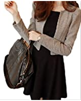 (アルファーフープ) α-HOOP 上品な エレガント ワンピース & アウター ジャケット 切り替え Style 2 点 セット アップ S ~ XL 大きい サイズ も レディース ファッション 大人 女 性 用 b55