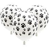 MARUIKAO バルーン 風船 気球 誕生日パーティー 結婚式 パーティーデコレーション用 1セット10個入り 犬の足跡