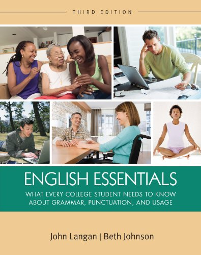 Download English Essentials, 3rd edition (Langan) (English Edition) B008JNZ3XE