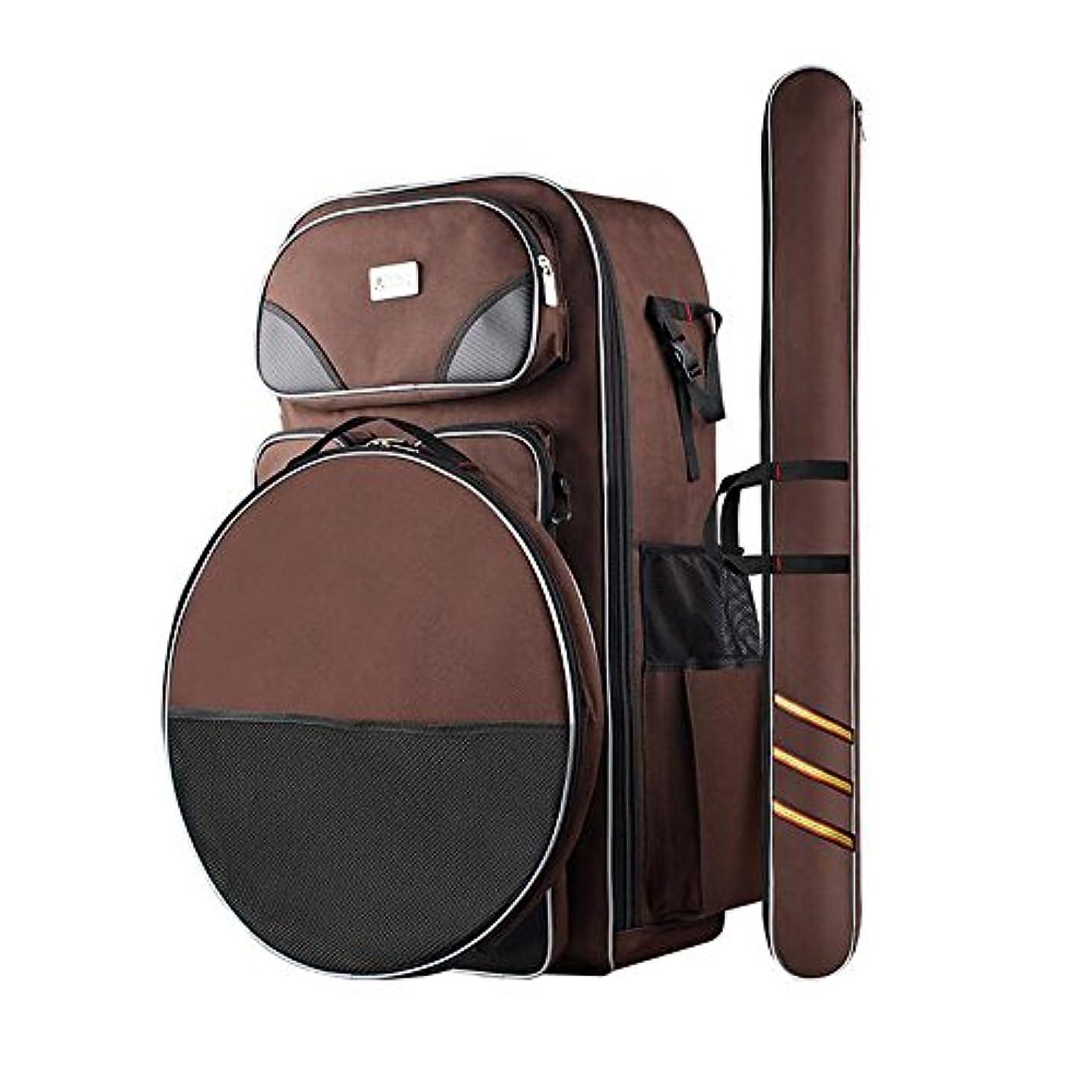 リハーサル建物復活する釣り用品 釣りバッグ タックルバッグ セット ロッドケース 漁具包 大容量 多機能 運び便利 釣りバックパック 取りはずしのきく