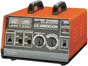 セルスター バッテリー充電器 CC-2500DX