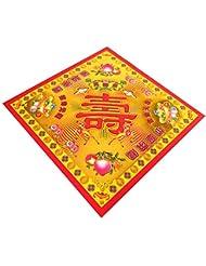 zeestar Incense用紙/祖先Money 7.6インチx 7.6インチ、40個 – Longevityゴールド
