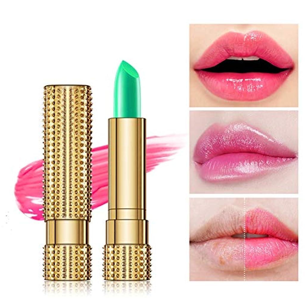インクについて特派員Kissbeauty色を変えるリップクリーム-温度によって変わる色の気分の口紅の保湿剤のリップグロスの香油-保湿の滑らかな唇ライン防水温度変化の口紅