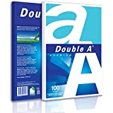 """A4 Size Premium Printer Paper - Great for Printing Professional Documents - 21 lb - 8.3"""" x 11.7"""" (100 Sheets, White)"""