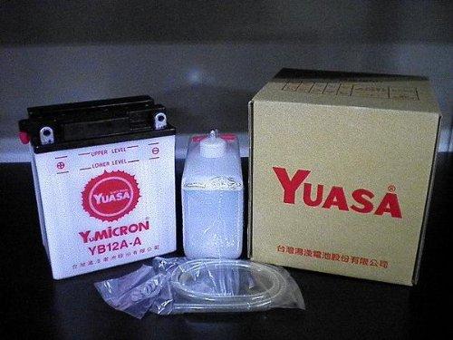 YUASAユアサ YB12A-A 互換 FB12A-A 12N12A-4A-1 GM12AZ-4A-1 Z400FX スーパーホークCM250T CB250T CBX400F XJ400