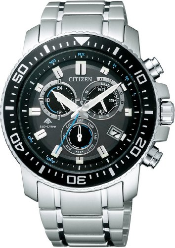 [シチズン]CITIZEN 腕時計 PROMASTER プロマスター エコ・ドライブ 電波時計 クロノグラフ ランドシリーズ PMP56-3052 メンズ