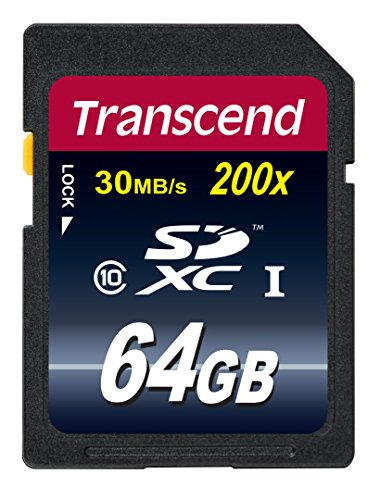 Transcend SDXCカード 64GB Class10 (無期限保証) TS64GSDXC10E (FFP)【Amazon.co.jp限定】