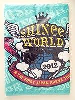 SHINee スポーツタオル World 2012 1st アリーナツアー 公式