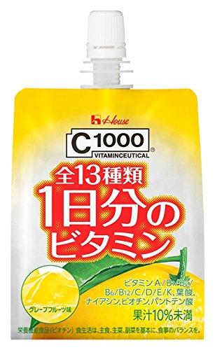 C1000 1日分のビタミンゼリー 180g