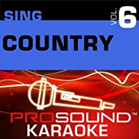 Sing Country Vol. 6 [KARAOKE]