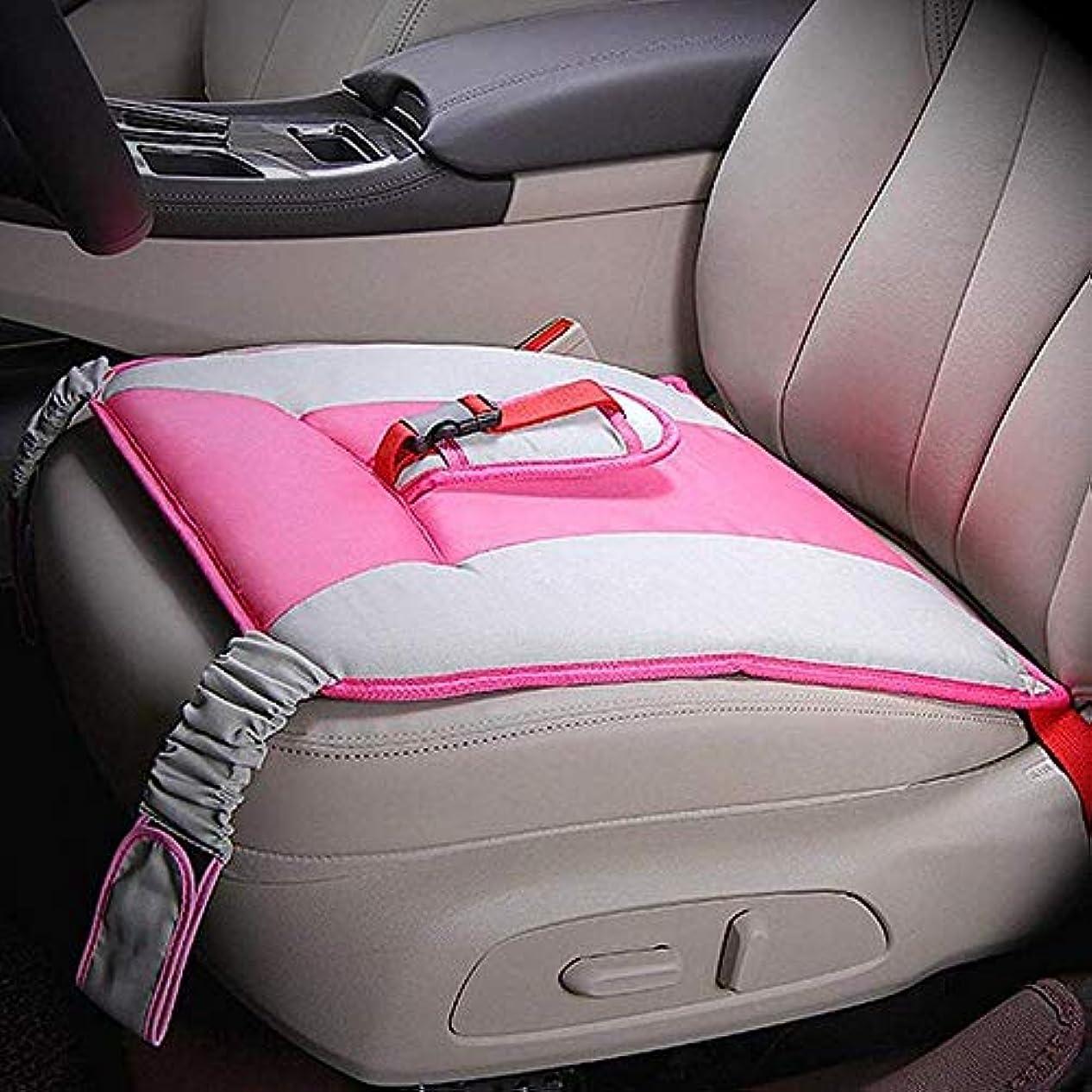 火薬天の第五LYX 妊娠中の女性のための特別な車のシートベルト、胎児通気性と調整可能な妊婦安全運転車のシートベルトのソフトクッションパッド保護ストラップを守ります (Color : ピンク)