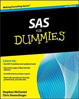 SAS For Dummies by [McDaniel, Stephen, Hemedinger, Chris]