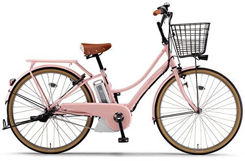 YAMAHA(ヤマハ) 電動アシスト自転車 2017年モデル PAS Ami 26インチ [高容量12.3Ahバッテリー,液晶5ファンクションメーター搭載] PA26CGA7J サクラピンク