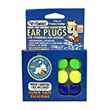 Putty Buddies Floating Earplugs 3 -Pair Pack (Red/White/Blue) (Pack of 3)