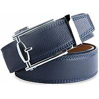 ( ウェニダ)WEINIDA ベルト メンズ 革/レザー オートロック サイズ調整可能 紳士ベルト 男性用 LOWD116