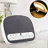 Sound Machine Sleep Therapy White Noise Machine with Night Light for Sleeping Adult Baby Office Privacy 4 Timers 8 Natural Smoothing Music USB Output Portable Sound Machine Traveler [並行輸入品]