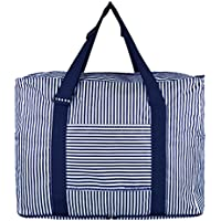 Mia Durable Waterproof Oxford Travel Duffle Tote Carry On Duffel Bag Shouder Bag Overnight Handbag Foldable Travel Tote Bag