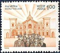 Meerut College Meerut college Building Students Indian Stamp