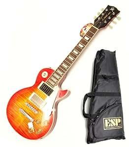 GrassRoots / ESP ( グラスルーツ ) アンプ内蔵レスポール! GR-LP-30S/M CHS ( チェリーサンバースト ) レスポールタイプ アンプ内蔵ミニギター!ESPロゴ入りギグバッグ付