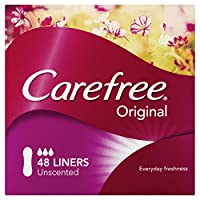 Carefree Original Liners Unscented 48 Pack