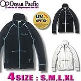 [オーシャンパシフィック] レディース ラッシュガードフィットネス UVカット 水着 長袖 ジップアップ 526670