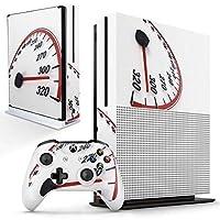 igsticker Xbox One S 専用 スキンシール 正面・天面・底面・コントローラー 全面セット エックスボックス シール 保護 フィルム ステッカー 002776